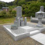 舞鶴市東舞鶴で愛媛県産大島石のお墓を建立