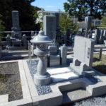 舞鶴市の東舞鶴大雲寺霊園でのお墓建立。佐賀県産椿石