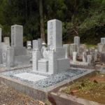 京都府舞鶴市 西舞鶴寺院墓地での新墓建立工事