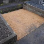 舞鶴市 寺院墓地での墓じまい工事