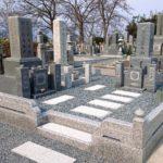 舞鶴市西舞鶴のお寺様の墓地にて、お墓建立と建て替え工事