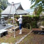 京都府舞鶴市西舞鶴寺院墓地でのお墓じまい工事